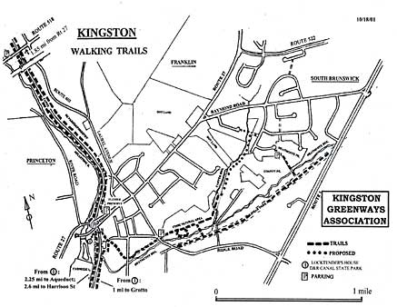 Kingston Walking Trails (911kb)