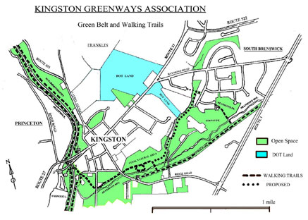 Kingston Greenways Walking Trails (255kb)
